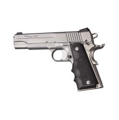Hogue 1911 Govt. Model OverMolded Rubber Grip with Finger Grooves