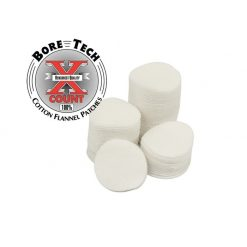 """Bore Tech Patches 1 1/4"""" Round .22-.243"""