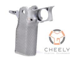 Cheely Custom Gunworks E2 Aggressive Grip Kit Stainless