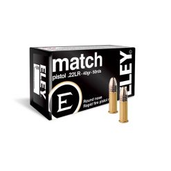 Eley Match Pistol .22 LR 40gr.