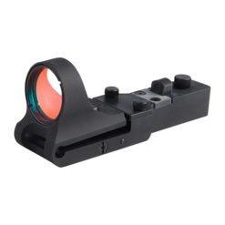 C-More Slideride Aluminium click switch zwart
