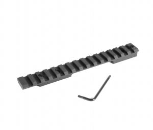 EGW HD Picatinny Rail Remington 700 Short Action 0 MOA
