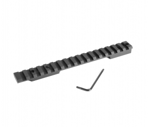 EGW HD Steel Picatinny Rail Remington 700 Long Action 0 MOA