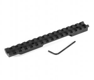 EGW Picatinny rail Remington 700 Short Action 0 MOA