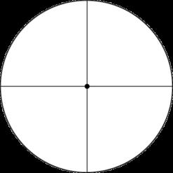 Weaver T36X40 fine crosshair 1/8 dot recticle zwart, verkrijgbaar bij Van Mulekom Schietsport