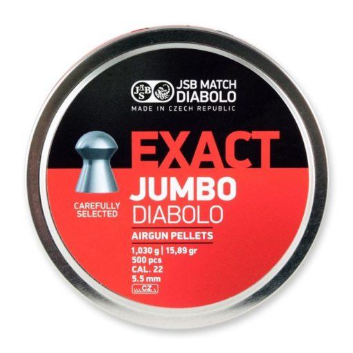 JSB exact diabolo jumbo 5,52 mm