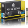 RWS Pistol Match .22lr 40 gr.