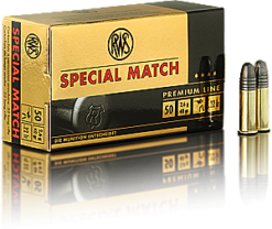 RWS Special Match .22lr 40 gr.