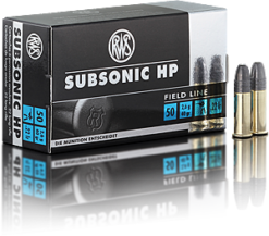 RWS Subsonic .22lr 40 gr. HP
