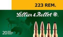 Sellier & Bellot .223 Remington 55 gr. SP