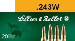 Sellier & Bellot .243 Winchester 100 gr. SP