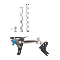 ZEV Technologies Adjustable Fulcrum Trigger Drop-In Kit, 1st-3rd Gen, 9mm, Blk/Blk