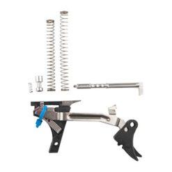 ZEV Adjustable Fulcrum Ultimate Trigger Kit, 1st-3rd Gen, Glock 9mm, Blk/Blk